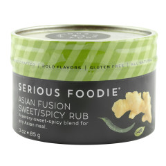 SERIOUS FOODIE ASIAN FUSION RUB 3 OZ *FL DC ONLY*