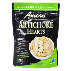 AMORE ARTICHOKE HEARTS 4.4 OZ POUCH