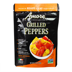 AMORE GRILLED PEPPERS 4.4 OZ POUCH