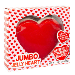 JUMBO JELLY HEART 14.1 OZ