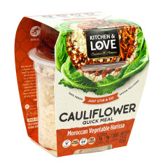 KITCHEN & LOVE READY TO EAT CAULIFLOWER MOROCCAN VEGETABLE HARISSA 7.9 OZ
