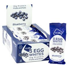 NUGO 3 EGG WHITES BLUEBERRY BAR 1.76 OZ