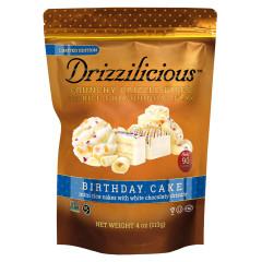 DRIZZILICIOUS BIRTHDAY CAKE DRIZZLE BITES 4 OZ