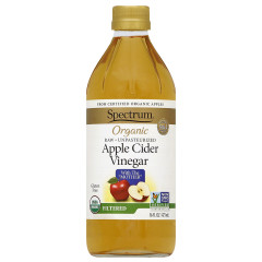 SPECTRUM ORGANIC APPLE CIDER VINEGAR 16 OZ BOTTLE