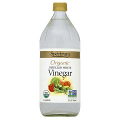 SPECTRUM ORGANIC WHITE VINEGAR 32 OZ BOTTLE