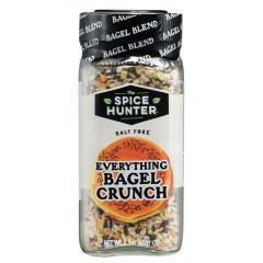 SPICE HUNTER SALT FREE EVERYTHING BAGEL CRUNCH 2.3 OZ JAR