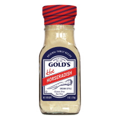 GOLD'S HOT CREAM STYLE HORSERADISH 6 OZ
