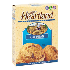HEARTLAND OAT BRAN 16 OZ BOX