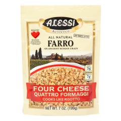ALESSI FARRO FOUR CHEESE 7 OZ POUCH
