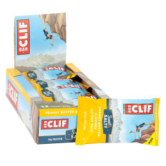 CLIF BAR SWEET & SALTY PEANUT BUTTER HONEY SEA SALT 2.4 OZ BAR