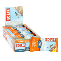 CLIF BAR SWEET & SALTY CARAMEL TOFFEE WITH SEA SALT 2.4 OZ