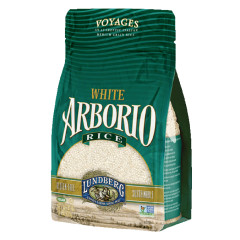LUNDBERG WHITE ARBORIO RICE 32 OZ BAG