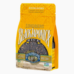 LUNDBERG BLACK JAPONICA RICE 16 OZ BAG