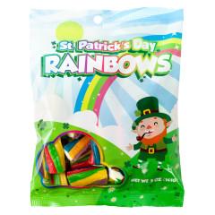 ST. PATRICKS' DAY RAINBOWS 5 OZ PEG BAG