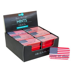 AMERICAN FLAG MINTS TIN