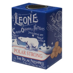 LEONE POLAR STRONG PASTILLES 1.6 OZ BOX