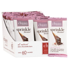 CHUAO SPRINKLE DREAMS MINI CHOCOLATE BAR 0.39 OZ
