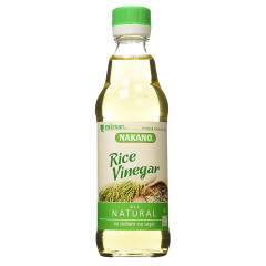 NAKANO NATURAL 4.2% RICE VINEGAR 12 OZ BOTTLE