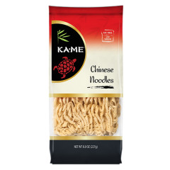 KAME CHINESE NOODLES 8 OZ POUCH
