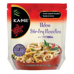 KAME UDON STIR FRY NOODLES 14.2 OZ POUCH