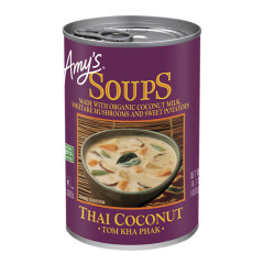 AMY'S THAI COCONUT SOUP 14.1 OZ CAN