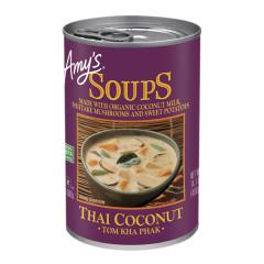 AMY'S THAI COCONUT SOUP 14.1 OZ CAN