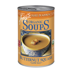 AMY'S ORGANIC LOW SODIUM BUTTERNUT SQUASH SOUP 14.1 OZ CAN