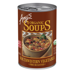 AMY'S ORGANIC FIRE ROASTED SOUTHWESTERN VEGETABLE SOUP 14.3 OZ CAN