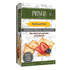 PARTNER'S CLASSIC ALL NATURAL TRADITIONAL CRACKERS 4 OZ BOX