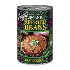 AMY'S ORGANIC TRADITIONAL REFRIED BEANS 15.4 OZ CAN