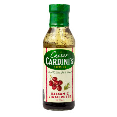 CARDINI'S BALSAMIC VINAIGRETTE DRESSING 12 OZ BOTTLE