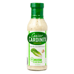 CARDINI'S LIGHT CAESAR DRESSING 12 OZ BOTTLE