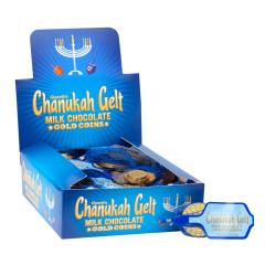 CHANUKAH GELT MILK CHOCOLATE 0.5 OZ
