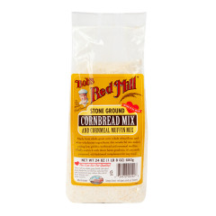 BOB'S RED MILL CORNBREAD MUFFIN MIX 24 OZ BAG