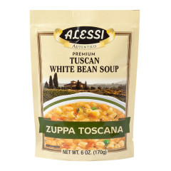 ALESSI TUSCAN WHITE BEAN SOUP MIX 6 OZ