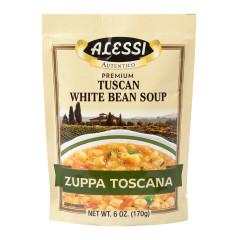 ALESSI TUSCAN WHITE BEAN SOUP MIX 6 OZ