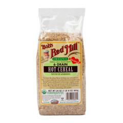 BOB'S RED MILL ORGANIC 6 GRAIN HOT CEREAL 24 OZ BAG
