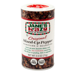 JANE'S KRAZY MIXED UP PEPPER 2.5 OZ SHAKER