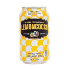 LEMONCOCCO LEMON COCONUT BEVERAGE 12 OZ CAN (4 PK)