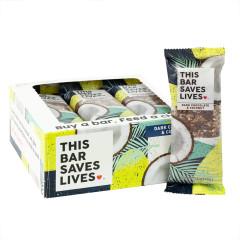 THIS BAR SAVES LIVES DARK CHOCOLATE COCONUT 1.4 OZ