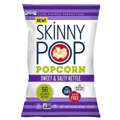 SKINNYPOP SWEET AND SALTY KETTLE POPCORN 5.3 OZ BAG