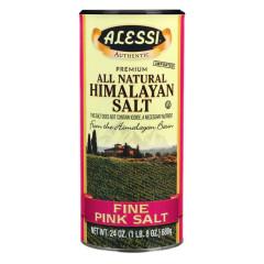 ALESSI FINE HIMALAYAN PINK SALT 24 OZ SHAKER