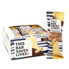 THIS BAR SAVES LIVES DARK CHOCOLATE PEANUT BUTTER 1.4 OZ