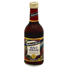 HOLLAND HOUSE 5% MALT VINEGAR 12 OZ BOTTLE