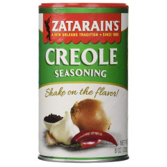 ZATARAINS CREOLE SEASONING 8 OZ SHAKER