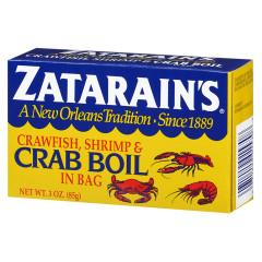 ZATARAINS CRAB BOIL SEASONING 3 OZ BOX