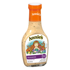 ANNIE'S GODDESS DRESSING 8 OZ BOTTLE