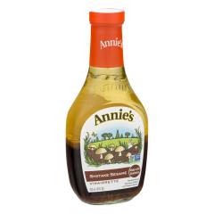 ANNIE'S SHIITAKE SESAME VINAIGRETTE DRESSING 8 OZ BOTTLE