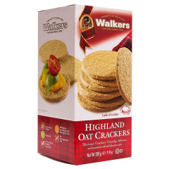 WALKERS HIGHLAND OAT CRACKERS 9.9 OZ BOX