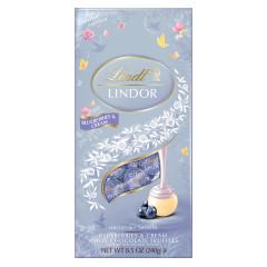 LINDT LINDOR BLUEBERRIES AND CREAM TRUFFLES 8.5 OZ BAG